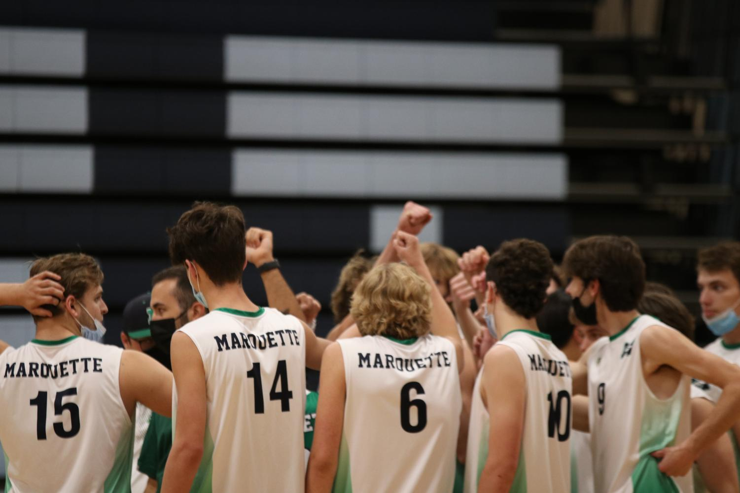 Photo+Gallery%3A+Varsity+Boys+Volleyball+Faces+Parkway+West