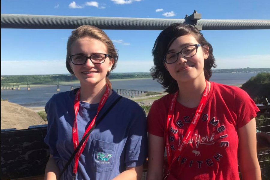 """Anna Zamenski and Julia McCarthy were longtime best friends, growing and traveling together to destinations like Canada for a French class trip in June 2017. Zamenski is running the paper petition in an effort to honor McCarthy, who passed away in August 2018, and keep her memory alive with an empty chair at the RSHS graduation. """"The chair wouldn't be big or flashy, I know she wouldn't have liked that,"""" Zamenski said. """"It would be more discreet and meaningful."""""""