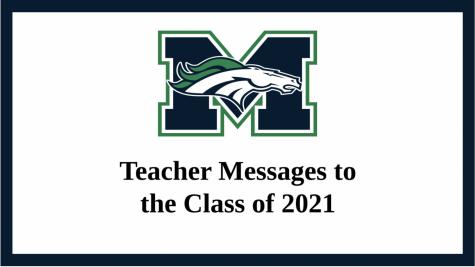 MHSNews | Teacher messages to seniors