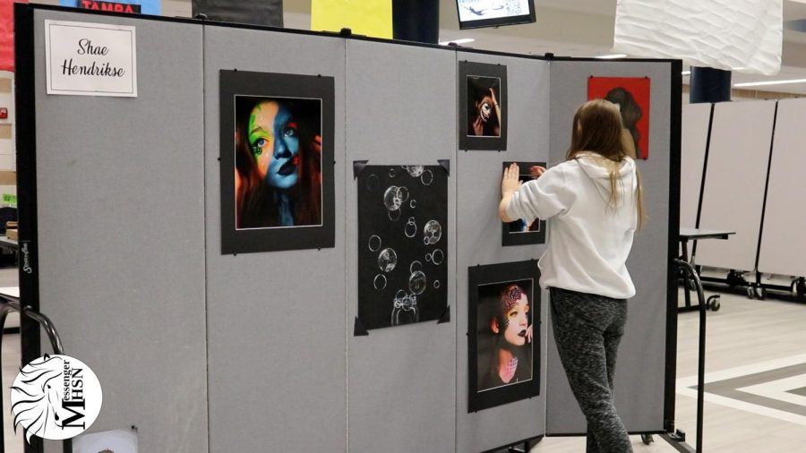 MHSNews | Students Prepare for AP Art Show
