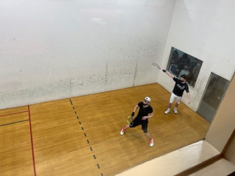 Will Sherman, senior, became the 2021 Missouri High School Racquetball State champion for the second consecutive year on Sunday, Feb. 28. Sherman currently plays for Lafayette High School, as MHS does not have a team.