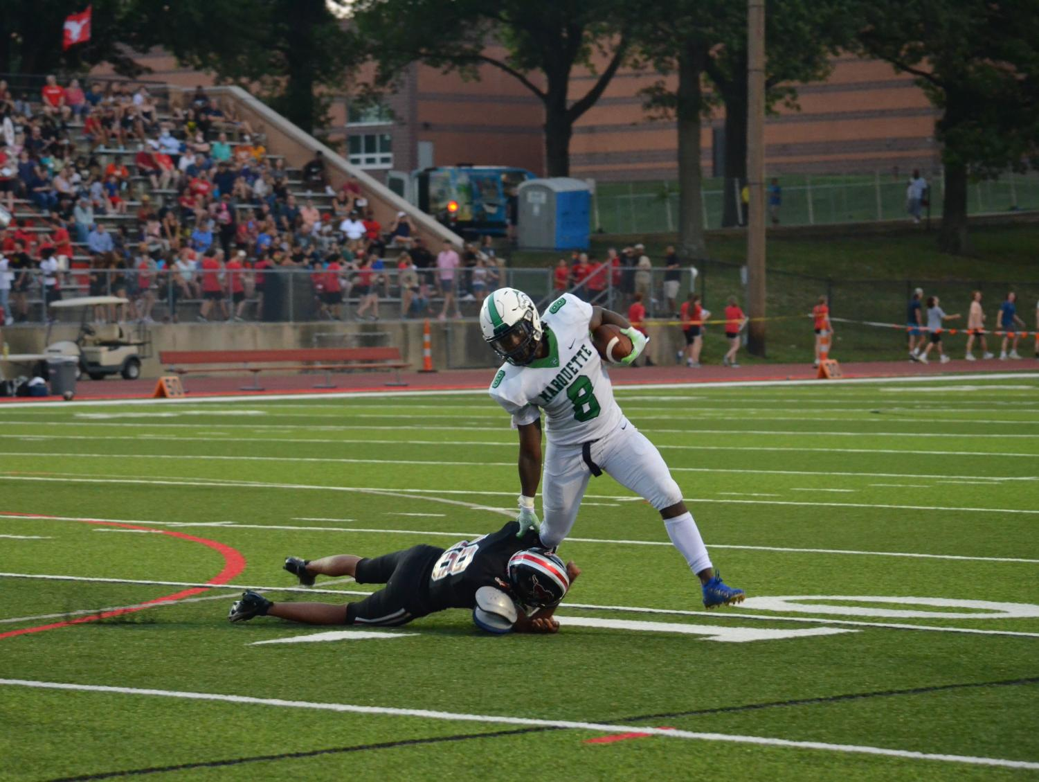 Photo+Gallery%3A+Mustangs+Defeat+Parkway+Central+In+First+Football+Game+Of+The+Season