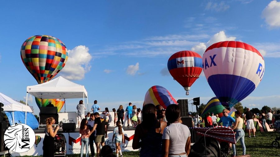 MHSNews   Great Forest Park Balloon Race Festival Continues