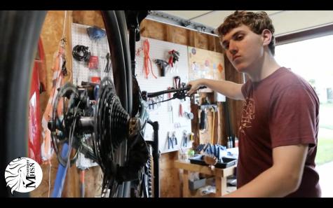 MHSNews | Junior Opens Bike Repair Shop From His Garage