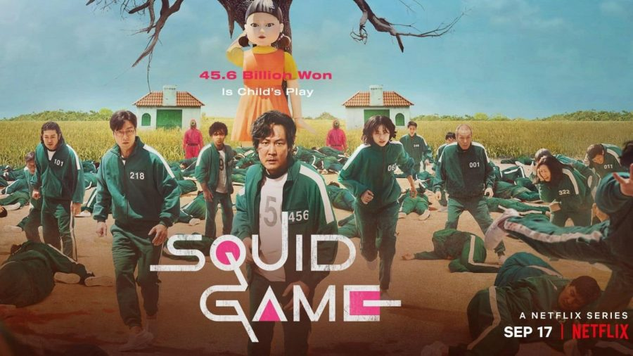 Squid+Games+was+released+onto+Netflix+on+September+17%2C+2021%2C+and+is+already+set+to+become+the+most-watched+show+on+the+platform.